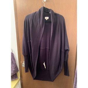Aritzia Wilfred Size Medium Black Cardigan